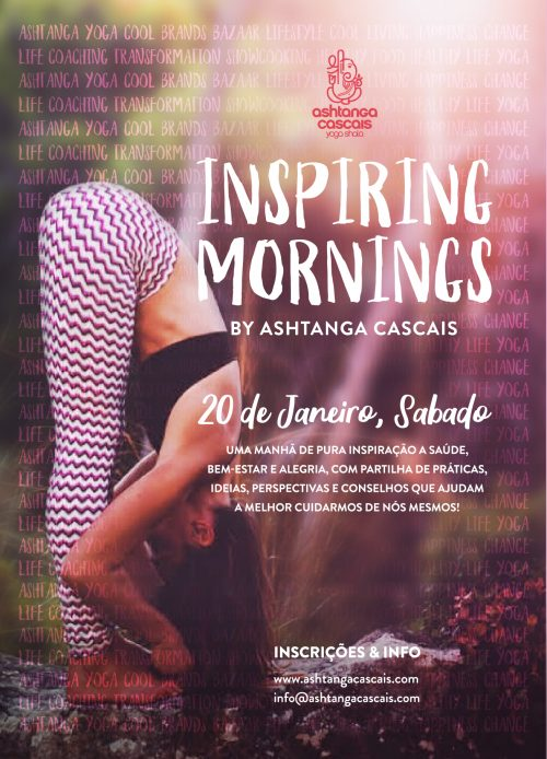 INSPIRING MORNINGS, JANUARY 20th, Estoril, Portugal