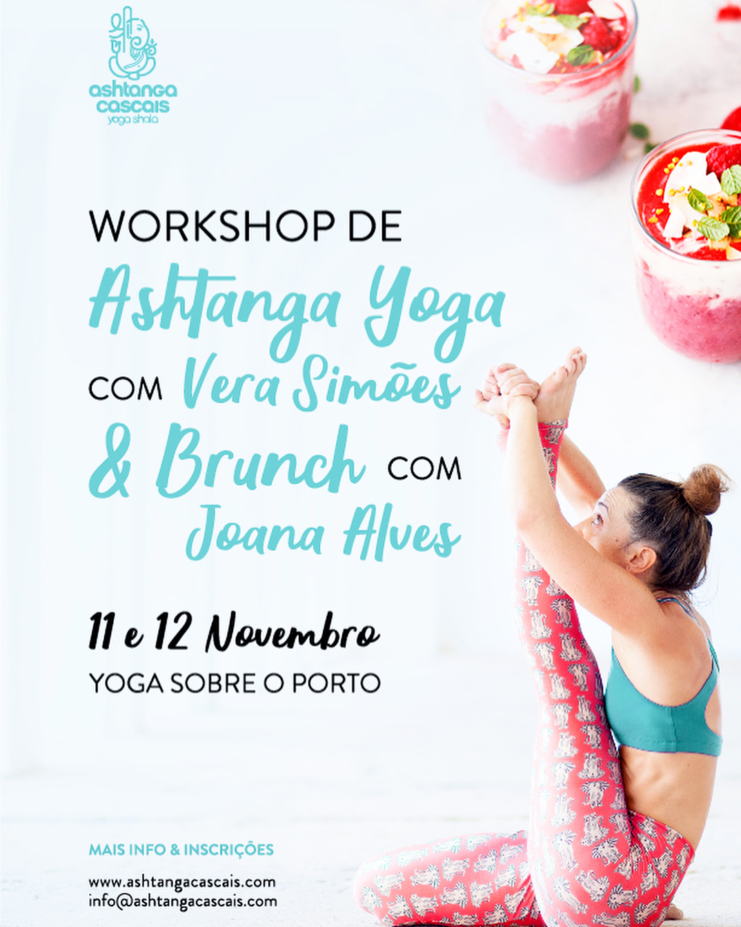 Workshop Intensivo de Ashtanga Yoga no Yoga Sobre O Porto