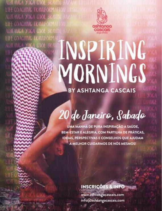 INSPIRING MORNINGS, 20th JANUARY, IN ESTORIL, PORTUGAL