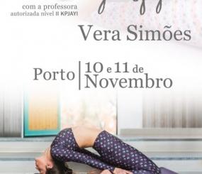 Workshop Ashtanga Yoga com a Vera Simões, 10 a 11 de Novembro, Porto