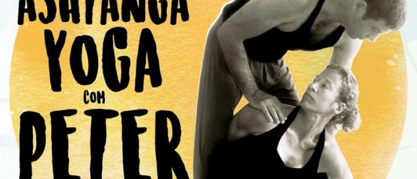 WORKSHOP INTENSIVO COM PETER SANSON, DE 12 A 16 DE JUNHO, NO ASHTANGA CASCAIS.