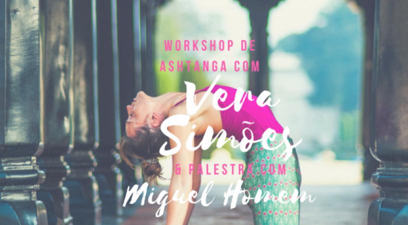 Ashtanga Yoga Workshop with Vera Simões, from February 24th to 25th, in Casa Ganapati, Porto