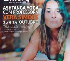 Ashtanga Yoga com Vera Simões, de 13 a 14 de Outubro, no BmQ, Coimbra