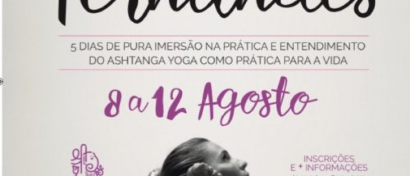 ASHTANGA YOGA WORKSHOP WITH ALINE FERNANDES