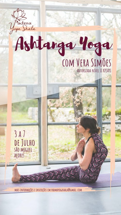 WORKSHOP WITH VERA SIMÕES, JULY 3rd TO 7th, IN AZORES