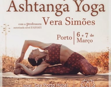 Ashtanga Yoga WORKSHOP, MARCH 6th and 7th, PORTO