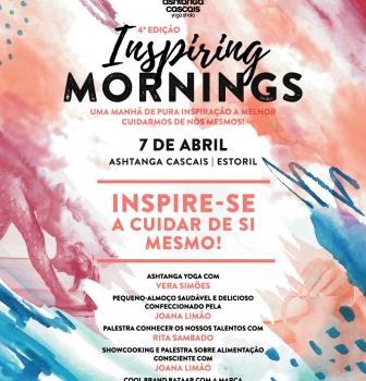 INSPIRING MORNINGS, one morning of pure inspiration to take better care of ourselves, April 7th, Ashtanga Cascais, Estoril