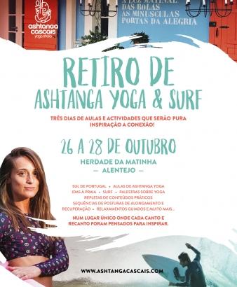 ASHTANGA YOGA & SURF RETIRO ANUAL