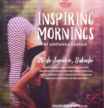 3rd EDITION OF THE INSPIRING MORNINGS, 20th JANUARY, IN ESTORIL, PORTUGAL