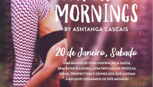 INSPIRING MORNINGS, 20th JANUARY, IN ESTORIL, PORTUGAL