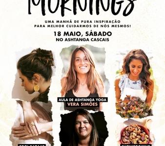 7ª EDIÇÃO INSPIRING MORNINGS, 18 DE MAIO, SÁBADO.