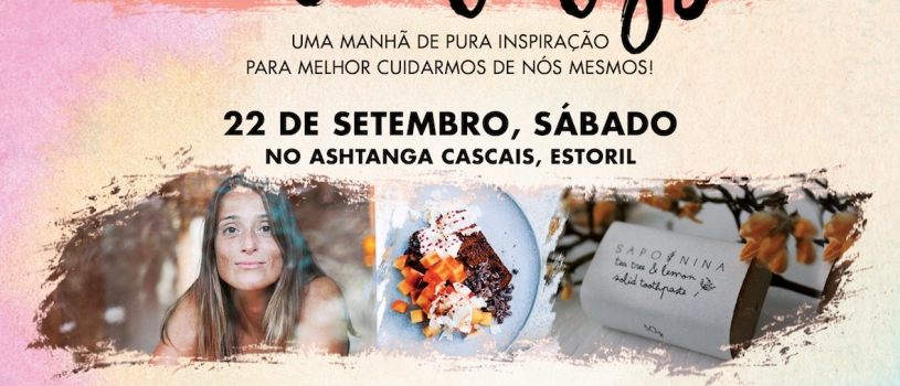 5th Edition of the Inspiring Mornings, 22nd September, at Ashtanga Cascais, Estoril