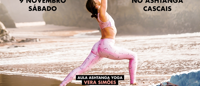 INSPIRING MORNINGS, 9 DE NOVEMBRO, NO ASHTANGA CASCAIS
