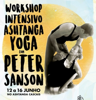 INTENSIVE WORKSHOP WITH PETER SANSON FROM JUNE 12th TO 16th, AT ASHTANGA CASCAIS.