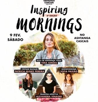 6th edition of the Inspiring Mornings, February 9th, at Ashtanga Cascais, in Estoril
