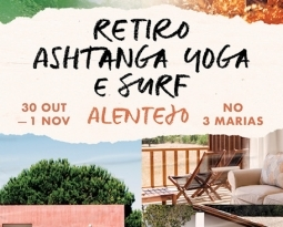Retiro, 30 Out. a 1 Nov.,  no Três Marias, Alentejo