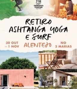 Retreat, October 30th to November 1st, at Três Marias, Alentejo