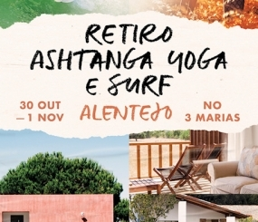 Retreat, October 30th to November 1st, at Três Marias, Alentejo