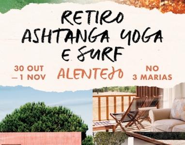 Retiro, 30 Out. a 1 Nov.,  no Três Marias, Alentejo