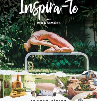 """INSPIRE YOURSELF"" WITH VERA SIMÕES, JULY 13th, SATURDAY, QUINTA DO ARNEIRO, IN MAFRA"