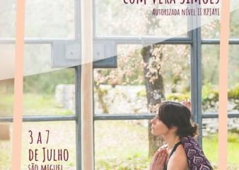 WORKSHOP VERA SIMÕES, DE 3 A 7 DE JULHO, EM S.MIGUEL, AÇORES