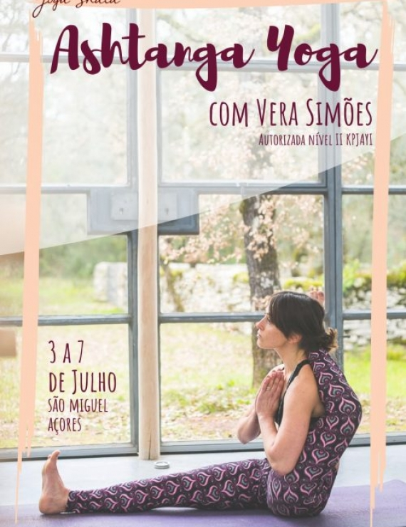WORKSHOP WITH VERA SIMÕES, FROM JULY 3rd TO 7th, IN S.MIGUEL, AZORES