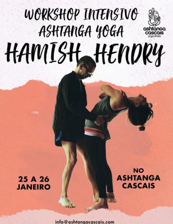 WORKSHOP HAMISH HENDRY, 25 & 26 DE JANEIRO