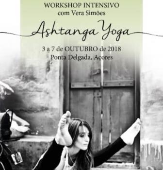 Workshop Intensivo de Ashtanga Yoga com a professora Vera Simões, de 3 a 7 de Outubro, no Padma Yoga Shala, na ilha de S.Miguel, Açores